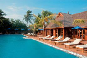Hotel Olhuveli Beach s bazénem, Jižní Malé Atol