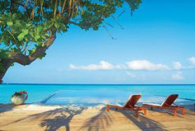 Hotel Olhuveli Beach s pláží, Jižní Malé Atol