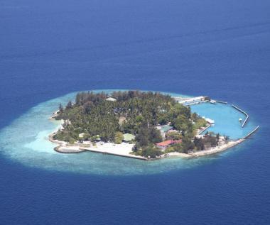 Vězeňský ostrov na Maledivách