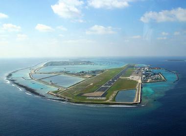 Maledivské letiště Malé